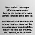 Le chanteur Olympe hospitalisé - Instagram, vendredi 26 avril 2019