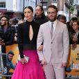Charlize Theron, Seth Rogen à la première de Long Shot au cinéma Curzon dans le quartier de Mayfair à Londres, le 25 avril 2019.