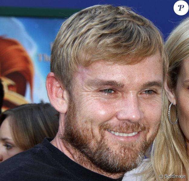 """Rick Schroder et son ex-femme, Andrea- Avant-première du film """"Le roi Lion 3D"""" à Hollywood, le 27 avril 2011."""