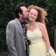 Sophie Perry et son père Luke Perry. Juin 2018.