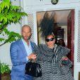 Lady Gaga est allée rendre visite à Anna Wintour à la veille du Met Gala à New York, le 5 mai 2019.