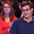 """Paul dans """"Les 12 Coups de midi"""" sur TF1, le 5 mai 2019."""