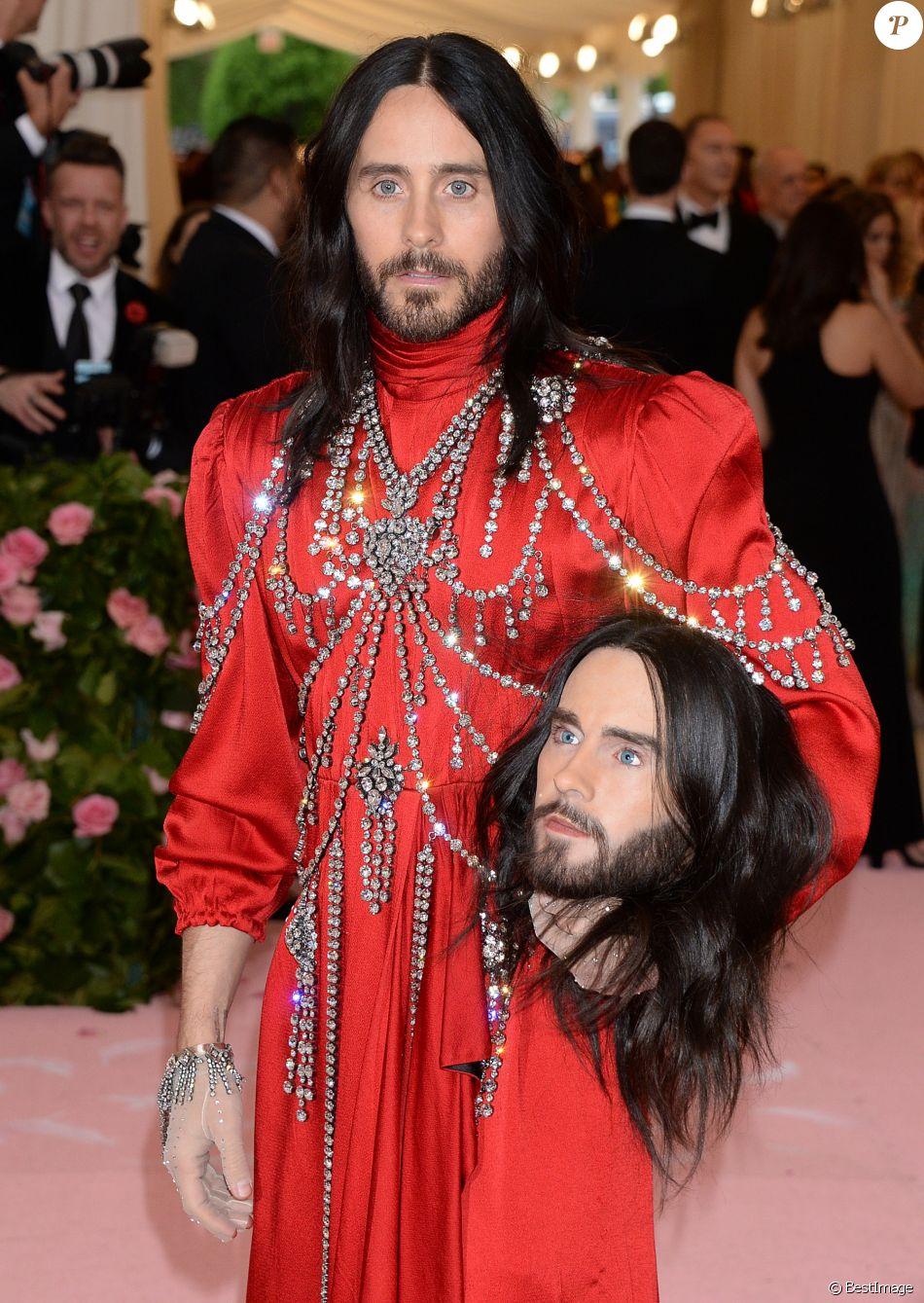 """Jared Leto - Arrivées des people à la 71ème édition du MET Gala (Met Ball, Costume Institute Benefit) sur le thème """"Camp: Notes on Fashion"""" au Metropolitan Museum of Art à New York, le 6 mai 2019"""