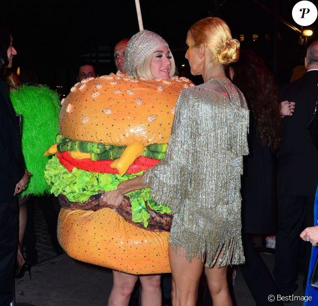 Katy Perry et Céline Dion arrivent à la Boom Boom Room pour l'after party du Met Gala. New York, le 6 mai 2019.