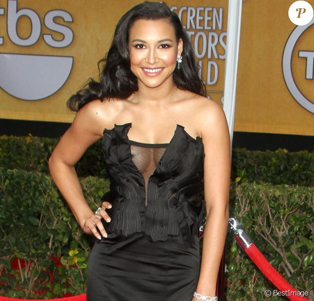 "Naya Rivera - People arrivant a la 19eme ceremonie des ""Screen Actors Guild Awards"" a Los Angeles, le 27 janvier 2013."