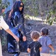 Kim Kardashian, Saint - Les célébrités se rendent à la messe dominicale pour assister au service de K. West à Los Angeles, le 17 mars 2019.