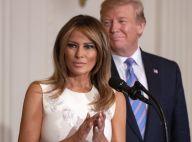 Melania et Donald Trump : Doux baiser (ou presque) à la Maison Blanche