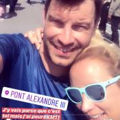 Elodie Gossuin et Bertrand Lacherie : Blessure, rires... Leur sortie intense