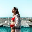 "Jesta de ""Koh-Lanta"" enceinte et divine en bikini, à Dubaï - Instagram, 8 février 2019"