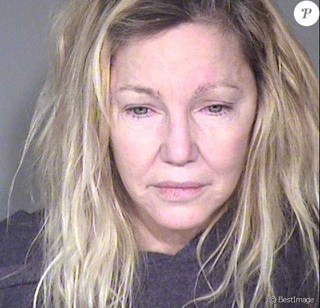 Le mug shot de Heather Locklear après son arrestation à Ventura County, le 25 juin 2018