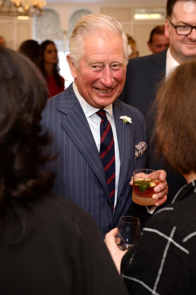 """Le prince Charles, prince de Galles, à la soirée des """"Fortnum & Mason - Food and Drink Awards"""" à Londres, le 16 mai 2019."""