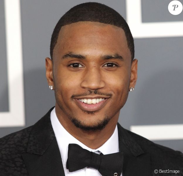 Trey Songz à la 55eme ceremonie des Grammy Awards à Los Angeles le 10 Fevrier 2013.