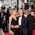 """Nagui et sa femme Mélanie Page lors de la montée des marches du film """"Douleur et Gloire"""" lors du 72ème Festival International du Film de Cannes. Le 17 mai 2019 © Jacovides-Moreau / Bestimage"""