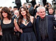 Cannes 2019 : Monica Bellucci somptueuse sous la pluie auprès de Claude Lelouch