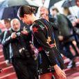 """Charlotte Casiraghi, habillée en Saint Laurent - Montée des marches du film """"Lux Aeterna"""" lors du 72ème Festival International du Film de Cannes. Le 18 mai 2019 © Jacovides-Moreau / Bestimage"""