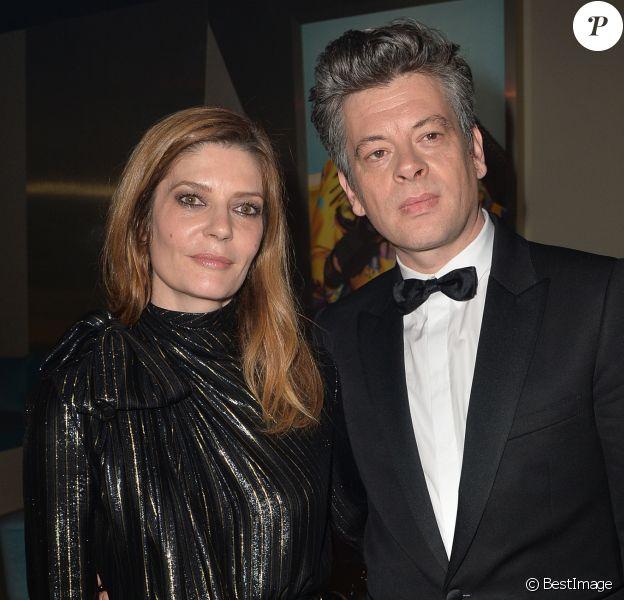 """Chiara Mastroianni et Benjamin Biolay - After party du film """" Chambre 212 """" sur la plage Magnum lors du 72ème Festival International du Film de Cannes le 19 mai 2019. © Veeren/Bestimage"""