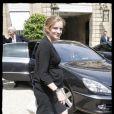 Nathalie Kosciusko-Morizet à la sortie du Conseil des ministres. 17/06/09