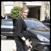 Nathalie Kosciusko-Morizet : soleil, rires et jolie tenue noire... Sa grossesse lui donne des ailes !