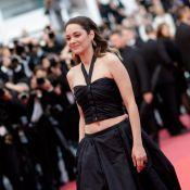 Marion Cotillard : Nombril à l'air à Cannes pour son homme Guillaume Canet