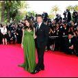 Brad Pitt et Angelina Jolie lors de la montée des marches du film Kung Fu Panda au Festival de Cannes en 2008