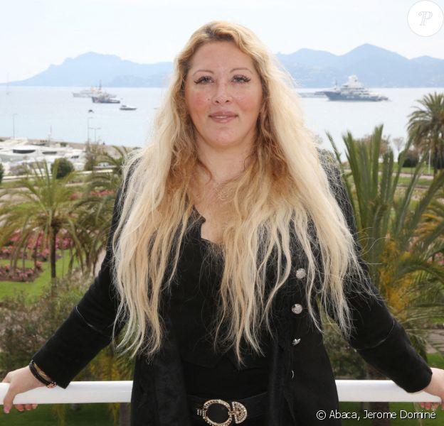 Exclusif - Loana pose pendant le 72e Festival de Cannes, le 21 mai 2019
