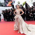 """Natasha Poly assiste à la montée des marches du film """"Roubaix, une lumière (Oh Mercy!)"""" lors du 72ème Festival International du Film de Cannes. Le 22 mai 2019 © Jacovides-Moreau / Bestimage"""