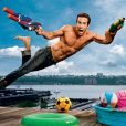 Ryan Reynolds en une du magazine Entertainment Weekly