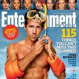 Ryan Reynolds en une du magazine Entertainment Weekly