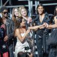 Kendall Jenner a participé au défilé du gala de l'amfAR Cannes à l'hôtel du Cap-Eden-Roc, en marge du 72ème Festival International du Film de Cannes. Antibes, le 23 mai 2019. © Jacovides / Moreau / Bestimage