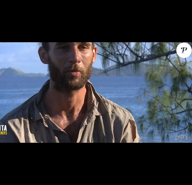 "Maxime dans ""Koh-Lanta, la guerre des chefs"" (TF1) vendredi 31 mai 2019."