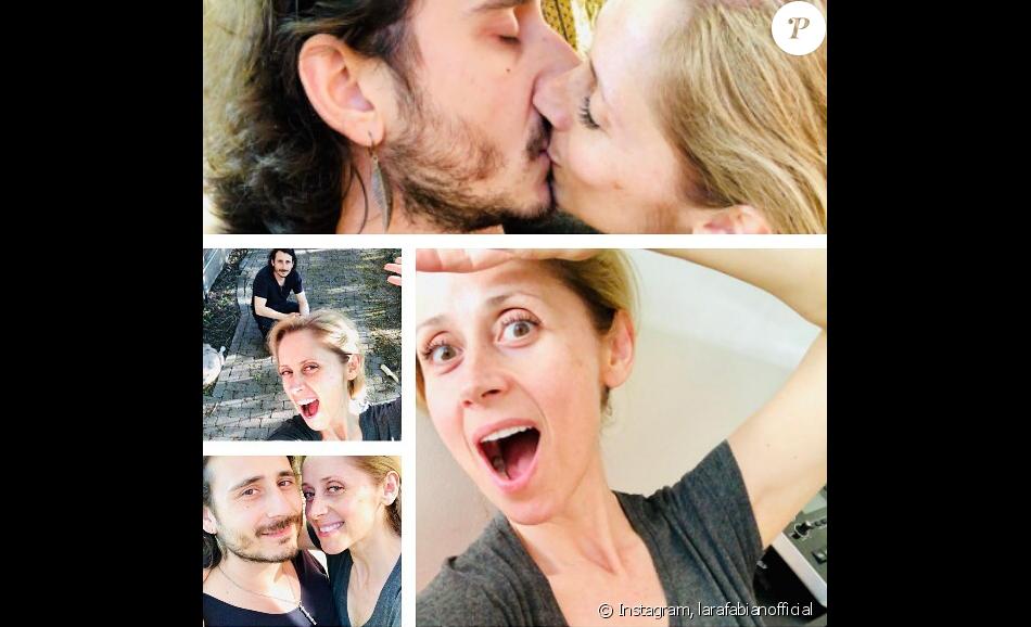 Lara Fabian prend la pose avec son mari Gabriel, sur Instagram, le 27 mai 2019