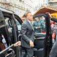 Arnold Schwarzenegger - Obsèques du pilote de F1 Niki Lauda à Vienne, Autriche, le 29 mai 2019.