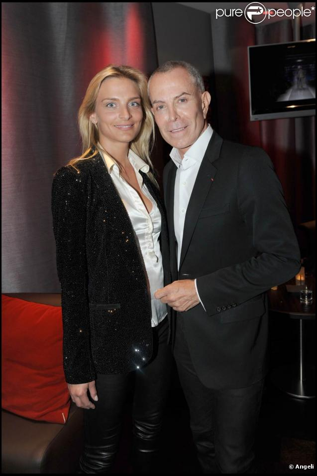 Sarah Marshall et Jean-Claude Jitrois, lors de l'inauguration de l'Hôtel Renaissance Paris Arc de Triomphe, au 39 avenue de Wagram, le 18 juin 2009 !