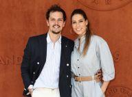 Laury Thilleman et Juan Alberaez : Amoureux stylés et assortis à Roland-Garros