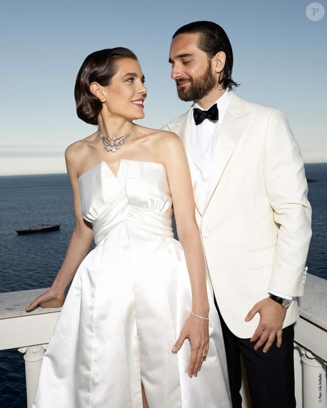Réception à l\u0027occasion du mariage de Mme Charlotte Casiraghi et M. Dimitri  Rassam