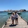 Marc-Olivier Fogiel : Vacances de rêve en Corse avec ses filles Mila et Lily