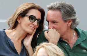 Anne-Claire Coudray : Complicité et tendresse avec son compagnon à Roland-Garros