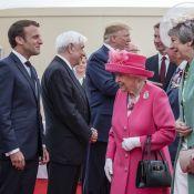 Emmanuel Macron, Elizabeth II et Donald Trump: Réunis en hommage au Débarquement