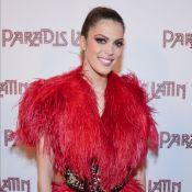 Iris Mittenaere, flamboyante, accueille ses copines Miss France au Paradis Latin