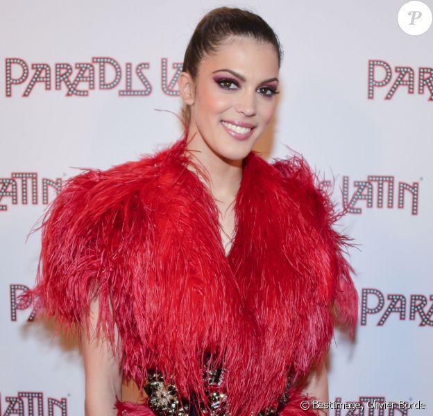 """Iris Mittenaere (Miss France 2016 et Miss Univers 2016) - Photocall de la générale """"L'Oiseau Paradis"""" au Paradis Latin à Paris le 6 juin 2019. © Olivier Borde/Bestimage"""