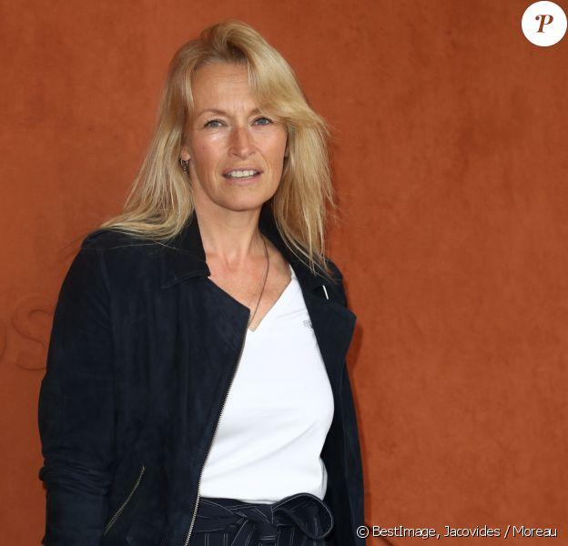 Estelle Lefébure au village des internationaux de France de tennis de Roland Garros 2019 à Paris le 7 juin 2019. © Jacovides / Moreau / Bestimage