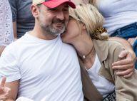 Gilles Lellouche et Alizée Guinochet : Amoureux très complices à Roland-Garros