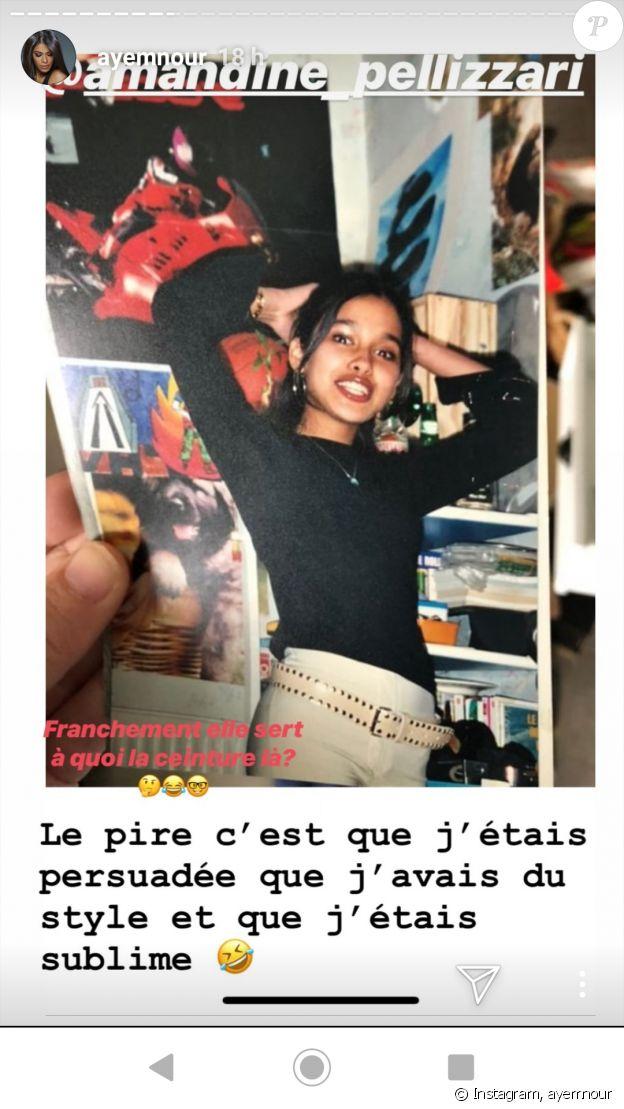 Ayem Nour dévoile une photo dossier sur Instagram, le 10 juin 2019