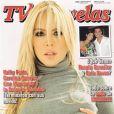 La bombe Natalia Paris, en couverture de TV Novelas !