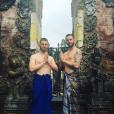 "Cyril de ""Koh-Lanta"" et Thomas, son petit ami - instagram, 11 avril 2019"