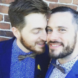 "Cyril de ""Koh-Lanta"" et son petit ami Thomas - Instagram, 11 avril 2019"