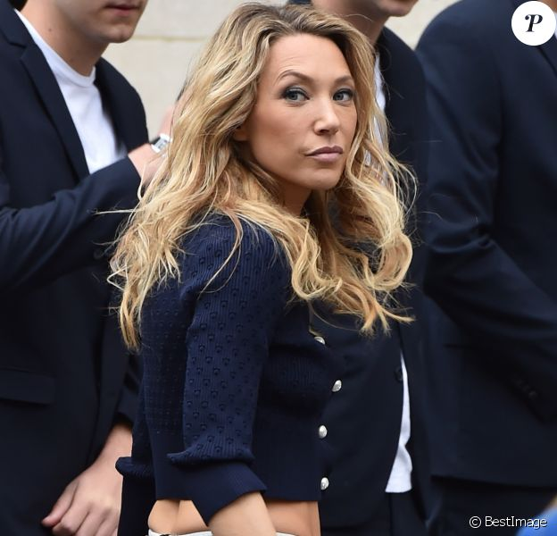 "Laura Smet au défilé de mode printemps-été 2019 ""Chanel"" au Grand Palais à Paris. Le 2 octobre 2018"