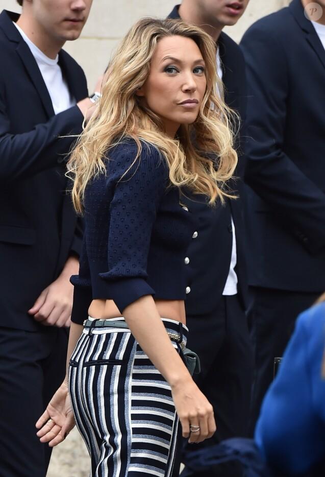 """Laura Smet au défilé de mode printemps-été 2019 """"Chanel"""" au Grand Palais à Paris. Le 2 octobre 2018"""