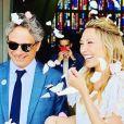 Nathalie Baye sur Instagram- Mariage de Laura- Juin 2019.