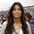 Grand Prix de Silverstone le 21 juin 2009 : Elisabetta Gregoraci